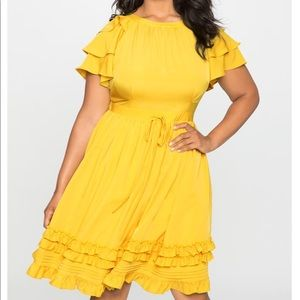 Brand New Ruffle Dress